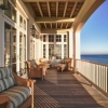Stunning deck on the beach