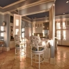 Custom built ins and luxury upscale finishes