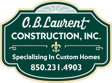 O. B. Laurent Construction, Inc. Builder & Contractor in Santa Rosa Beach serving the South Walton, FL area